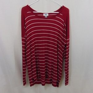 💐 Old Navy Striped Long Sleeve Top
